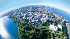 Darwin Bike Tours Darwin from the air